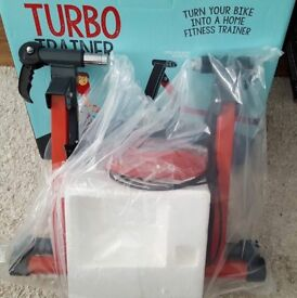 Bike cycle indoor turbo trainer