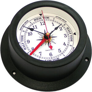 TRINTEC-VEC-W02-MARINE-NAUTICAL-INSTRUMENT-VECTOR-TIDE-AND-TIME-CLOCK-BRAND-NEW