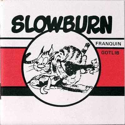 Slowburn von Franquin und Gotlib, 10x10cm RAR! SELTEN!