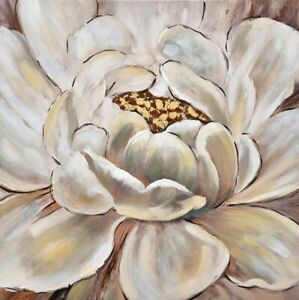 Luxe Magnolia Flower Framed Painting Print Canvas Floral Wall Art Camp Hill Brisbane South East Preview