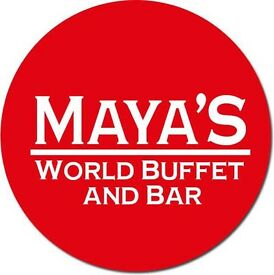 Experienced or inexperienced part time or full time waiting staff for Maya's World Buffet