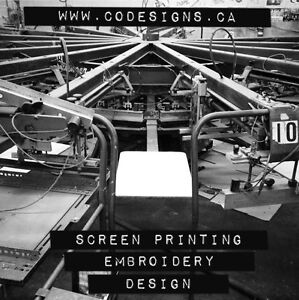 Code Screen Printing & Embroidery - Sériegraphie et Broderie West Island Greater Montréal image 2