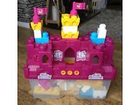 Girls Mega Bloks (building blocks) Palace theme