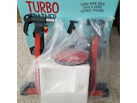 Brand new turbo trainer indoor cycle trainer
