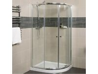*CLEARANCE* Quadrant Shower Enclosure + Tray 900mm x 900mm for sale  Handsworth Wood, West Midlands