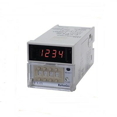 Digital Counter And Timer Fx4s Preset Voltage And No-volage Input 100-240v