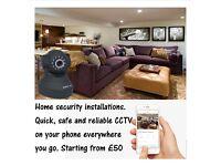 Home Security CCTV Installations London & Surrey