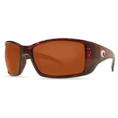 Costa Del Mar BLACKFIN Tortoise Copper Mirror Sunglasses 580G Glass BL 10 OCGLP