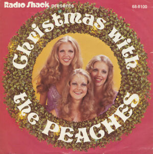 Christmas With the Peaches-4 song-Vinyl 45 + bonus lps-Lot $5