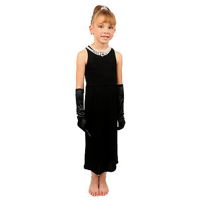 Mini Holly Complete Cotton Costume Set Inspired By Breakfast At - Breakfast At Tiffany's Kostüm Kind