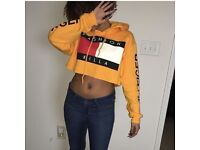 Trillfiger fashion Killa crop hoodie