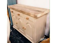 Beautiful reclaimed Sideboard country chic