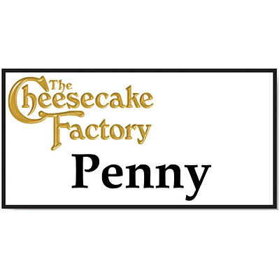 Halloween Cheesecakes (NAME BADGE HALLOWEEN PENNY CHEESECAKE FACTORY BIG BANG MAGNET SHIPS)