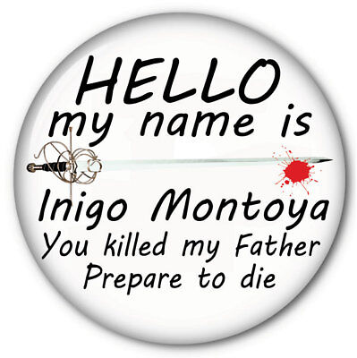 INIGO MONTOYA PRINCESS BRIDE HALLOWEEN COSTUME PROP 3