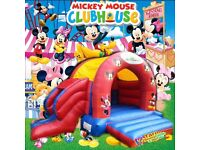 Commercial bouncy castle with slide 18x15 foot