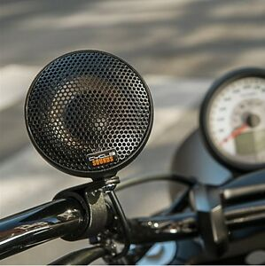 Victory Handlebar Speakers Kit (Chrome & Black Available)
