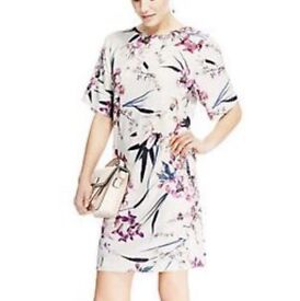 M&S dress in gorgeous floral design