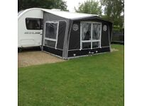 Isabella Magnum 230 Coal Caravan a Porch Awning 2014 used 4 times