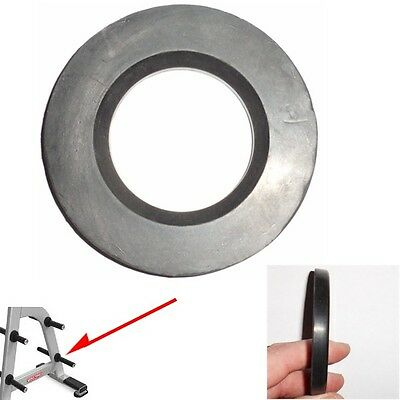 2 Ea - Olympic Bar Sleeve Bumper Ring - Dampens Noise & Protects Bar Finish