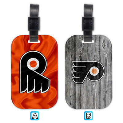 Philadelphia Flyers Wood Luggage Tag Suitcase Trip Travel Bag Flyer Luggage Tag