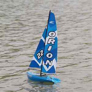 RC Boat Sailing Yacht Joysway Orion Mast Height 634mm 2.4 GHz RTR BLUE JS-8803B