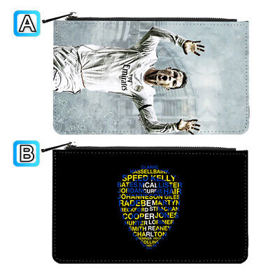 Cristiano Ronaldo Best Football Leather Pen Pencil Case Makeup Bag