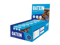 OATEIN PROTEIN FLAPJACKS box of 12 - £14. Or 2 boxes for £25.