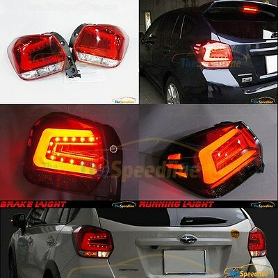 11 12 13 14 15 SUBARU XV CROSSTREK Impreza Sport Wagon HB OE RED LED TAIL LIGHTS