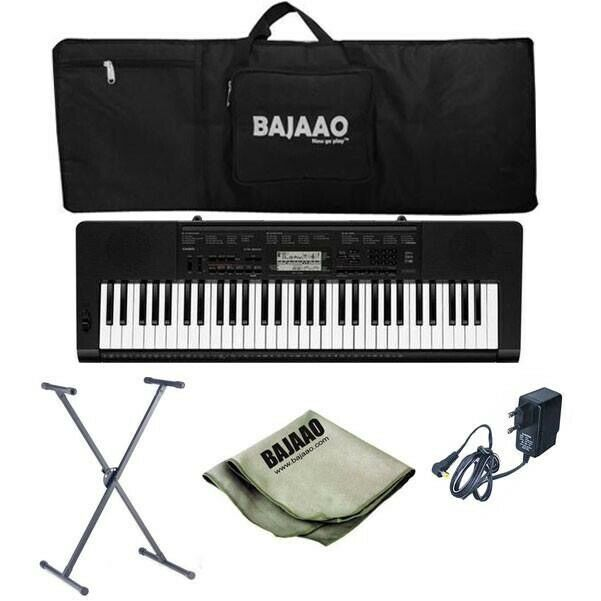 Casio CT-X3000 61 Note Piano Keyboard + USB Cable + Stand + Pedal + Custody  | in Wembley, London | Gumtree