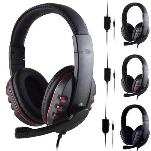 Cuffie Gaming per PS4 PC XBOX ONE Auricolare con Controllo Volume e Microfono