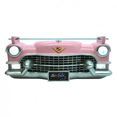 Elvis Presley Pink Cadillac 3D Wandregal mit Beleuchtung Licht Regal Auto rosa