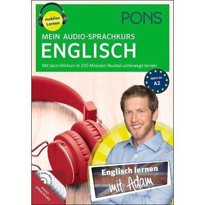 ENGLISCH lernen ohne Buch - Anfänger-Sprachkurs mit 5 Audio-CDs + Begleitheft