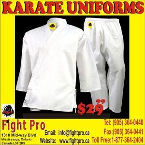 KARATE, TAEKWONDO KUNGFU UNIFORMS,,70%OFF SAVE$$$ (905)364-0440