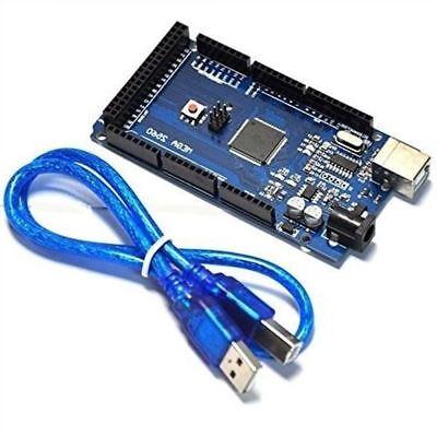 1pcs For Arduino Mega 2560 Atmega2560-16au Boardfree Usb Cable New Ic Cc