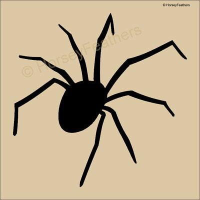 New-Spider A STENCIL~Bigger Sizes DIY U Paint Halloween Insect Creepy U Pick ](Halloween Spider Stencil)