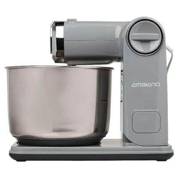 Faltbare Küchenmaschine (300 Watt, 3,5 Liter, 6 Geschwindigkeitsstufen, grau)