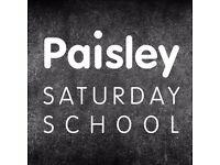 English, maths, biology and physics tuition at Paisley Saturday School