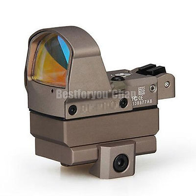 Tactical Pistol DP-Pro Style Red Dot Reflex Mini Sight w/ Mount for 1911 1913