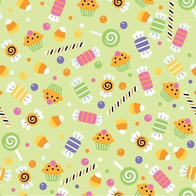 Trick Or Treat Costumes For Kids (Trick or Treat Green Candy by Doodlebug Designs for Riley Blake, 1/2 yard)