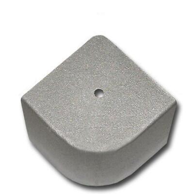 PONTOON BOAT ALUMINUM CORNER CAP (3-1/4