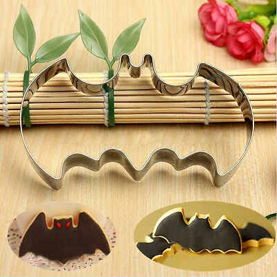 Halloween Batman Stainless Steel Biscuit Cookie Cutter Cake Decor Baking - Halloween Decorated Cookie Cakes