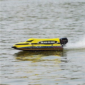New RC Boat MAD FLOW Brushless Electric ARTR 2.4 G
