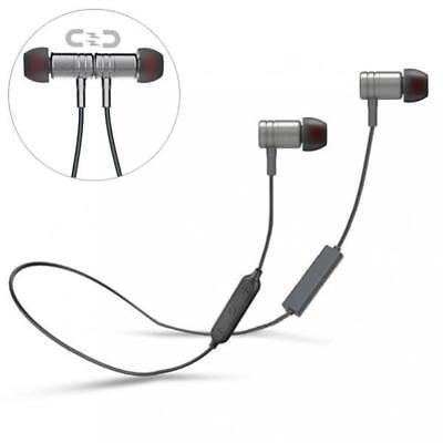 NECK-BAND HI-FI HEADSET EARBUDS MIC WIRELESS EARPHONES for C
