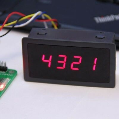 4 Digit 7 Seven Segment Led Display Controller 5v Red For Arduino Compatible Uno