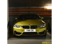Personalised Private Number Plate - Yeah OK - Yah OK - Y4HOK - Private Plate - Grab Bargain for XMAS