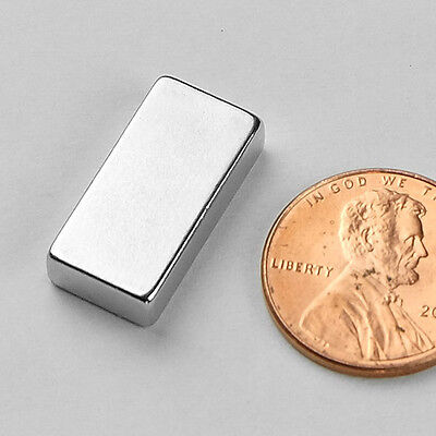 2 5 10 25pcs 20mm X 10mm X 5mm N52 Strong Neodymium Crafts Fridge Magnet Block