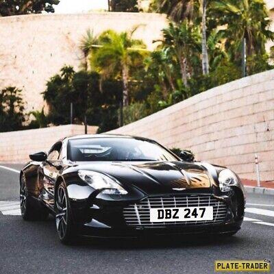 private registration Aston Martin Zagato DB2 DB3 DB4 DB5 DB6 DB7 DB9 DB11