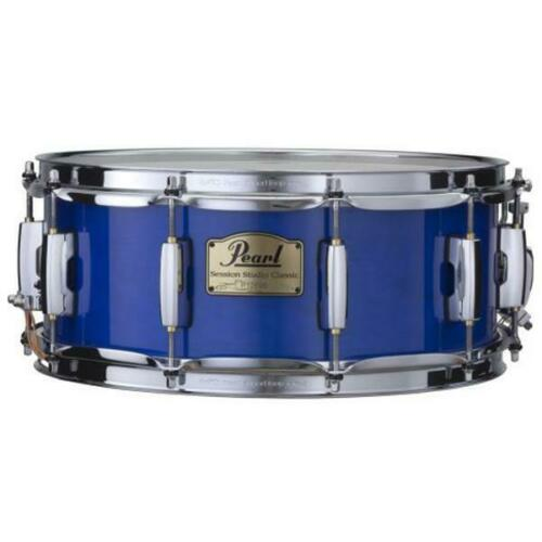 """Pearl Session Studio Classic 14"""" X 5.5"""" Snare Drum/Sheer Blue/Finish #113/NEW"""