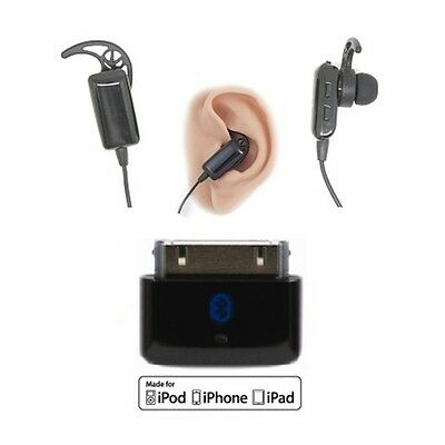 KOKKIA i10s Puny Bluetooth iPod Transmitter + i10sTwin Stereo Headset