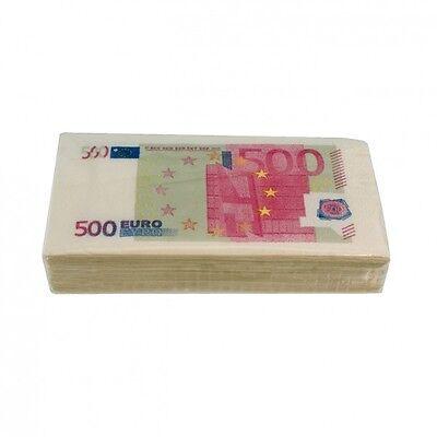 Taschentücher 500 Euro Geldschein € Papiertaschentücher Taschentuch Geld Note